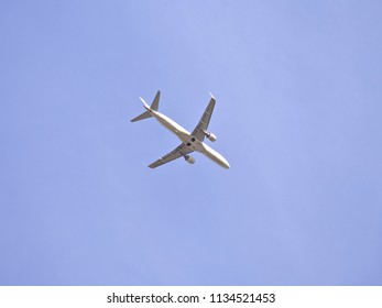 VAASA, FINLAND - MAY 06 2018: Finnair Embraer ERJ-190LR taking off from Vaasa airport, Finland.