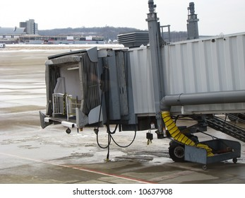 Vacant Airplane Jetway