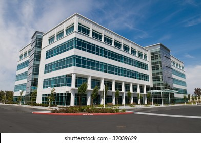 Vacant Silicon Valley office building, Sunnyvale, California