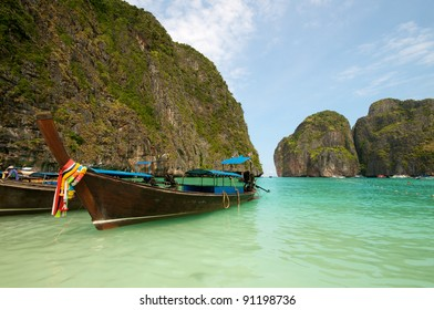 Vacation boats in Thailand