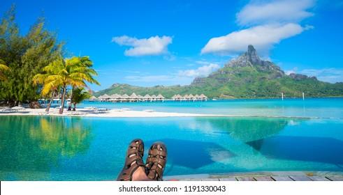 Vacation in Bora Bora, Tahiti
