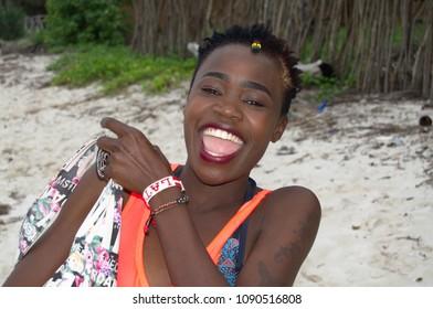 Girl taking whole dildo