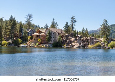 Vacation home on the lake.