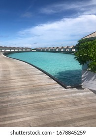 vacation at maldivian's resort - maldivies, at exotic island.