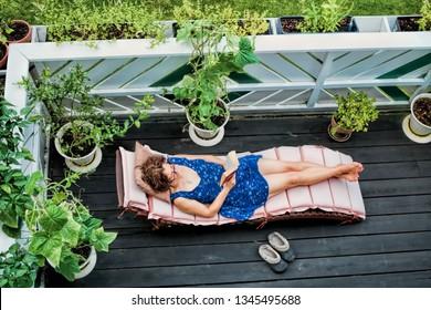 Vacation on the balcony