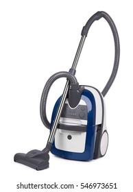 Vacuum cleaner isolated on a white background