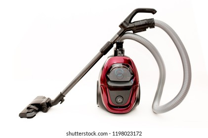 Vacuum cleaner on a white background clean house cleaning