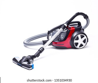 vacuum cleaner on white background