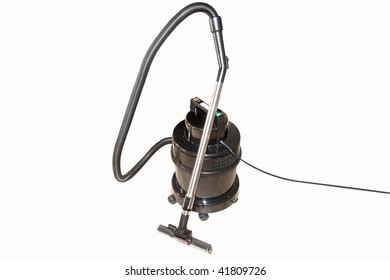 vacuum cleaner under the white background