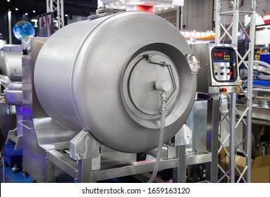 Vacuum meat tumbler massaging machine for food industry