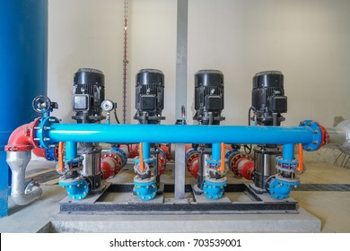Vacuum pump of control system fire fighting water supply pipeline system