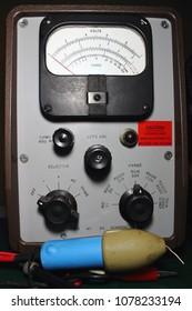 Vacuum Tube Voltmeter ,volt-ohmmeter.