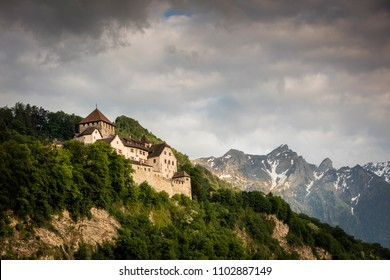 Vaduz Castle in Lichtenstein