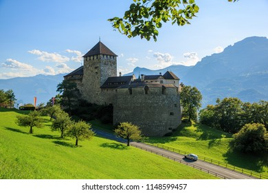 Vaduz Castle is located at the city of Vaduz, Liechtenstein on a hill overlooking the city. Tourists often assume that they can visit the castle but the Prince of Liechtenstein actually lives in here