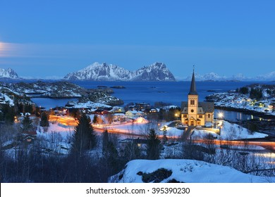 Vagan Church is a parish church in the municipality of VÃ¥gan in Nordland county, Norway