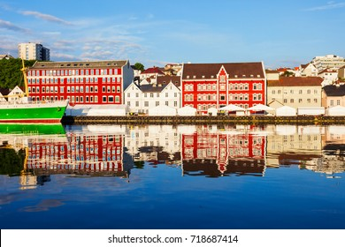 Vagen old town in Stavanger. Stavanger is a city and municipality in Norway.
