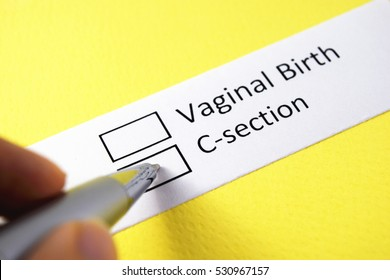 vaginal birth or c-section? c-section.