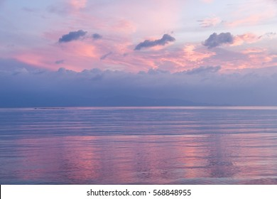 Pink Sunset Abstract Stock Photos Images Photography