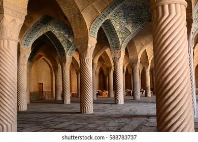 Vakil mosque in Shiraz. 23 september 2014. Iran