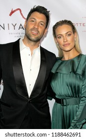 Val Chmerkovski and Peta Murgatroyd at the 9th Annual Face Forward Gala at the Beverly Wilshire Hotel in Beverly Hills, CA on Sept. 22, 2018.