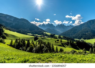 Val di Funes, Dolomites, South Tyrol, Italy