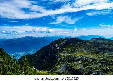 Val sugana and picks form the altopiano di Asiago