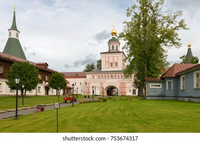 The Valdai Iversky Svyatoozersky Bogoroditsky Monastery. Church of the Archangel Michael of Michael