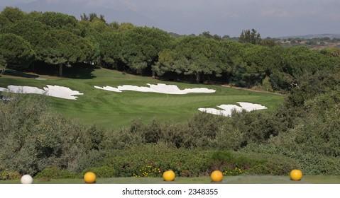 valderrama golf course, spain