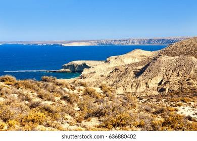The Valdes Peninsula. Argentina.