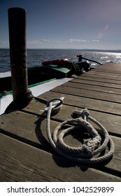 valencia albufera boat port rope