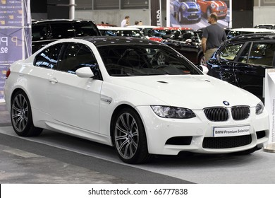 VALENCIA - DECEMBER 7: Yearly automotive new and used show. December 7, 2010 in Valencia, Spain. BMW M3