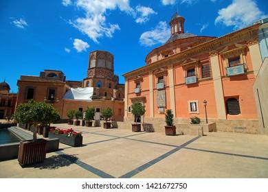 Valencia, Spain - 05/10/2019: old town of Valencia