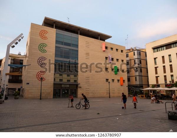 Valencia Spain August 23 2018 Valencian Stock Photo Edit