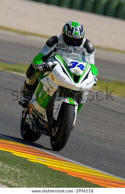 Valencia (Spain) Cheste Circuit - SuperBikes Winter Training 2007
