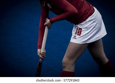 VALENCIA, SPAIN - FEBRUARY 11: Martyna Wypijewska during Hockey World League Round 2 semifinal match between Ukraine and Poland at Betero Stadium on February 11, 2017 in Valencia, Spain