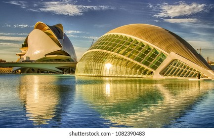 VALENCIA, SPAIN - MAR 14: City architectural detail on March 14, 2008 in Valencia, Spain. Valencia welcomes more than 4 million visitors every year.
