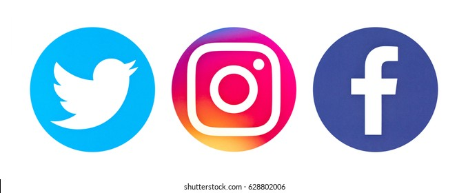 Image result for instagram twitter facebook