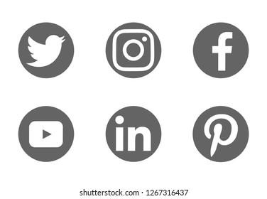 Imágenes, fotos de stock y vectores sobre Youtube Icono