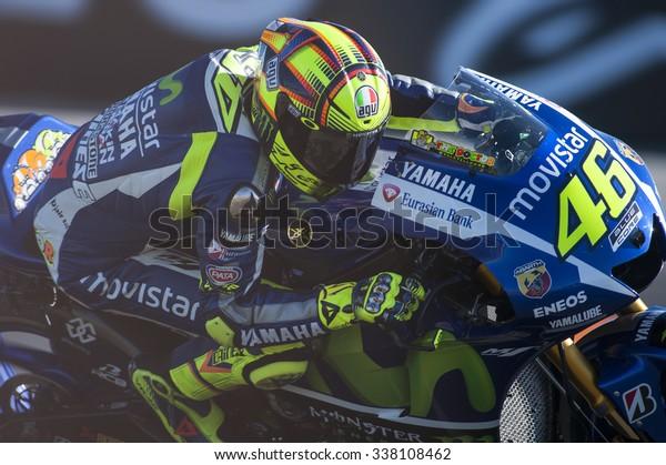 Valencia Spain November 6 Valentino Rossi Stock Photo Edit