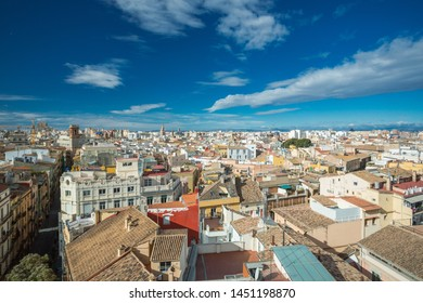 Valencia, Spain. View over the city
