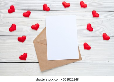 Valentines Day Love Letter Gifts Decor Stock Photo Edit Now