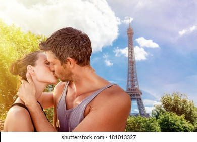 valentine days in france kissing lovers
