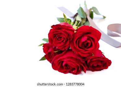 Royalty Free Red Roses Bouquet Images Stock Photos Vectors