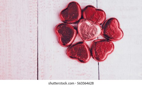 Valentines Day background , Abstract of Love, Love concept