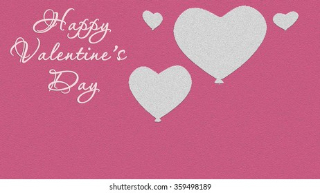 Valentine's day background illustration. Valentines. Valentine's day. The texture of the paper with hearts, there is a place for a label. February 14. The day of love. The festival of lovers.