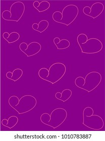 valentine's day background,sweet hearts card.