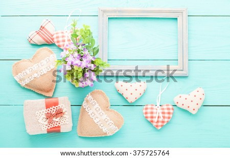Valentines Day Beautiful Background Mock Template Stock Photo (Edit ...