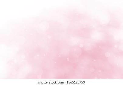Valentine's day blur background Valentine's day card Multicolored pastel tones