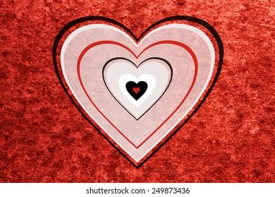 Valentines day card background illustration
