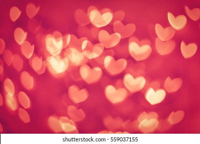 Valentines day concept background with colorful hearts